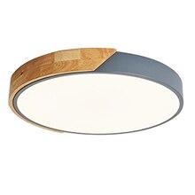 חדר שינה מודרני תקרת אור מדליק תאורה קבועה Ultrathin Led תקרת מנורת אורות לסלון
