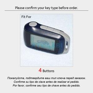 Image 2 - Lederen Sleutel Case Voor Starline A92 A94 A62 A64 A95 Twee Weg Auto Alarm Lcd Afstandsbediening Zender Sleutelhanger Protector cover Bag