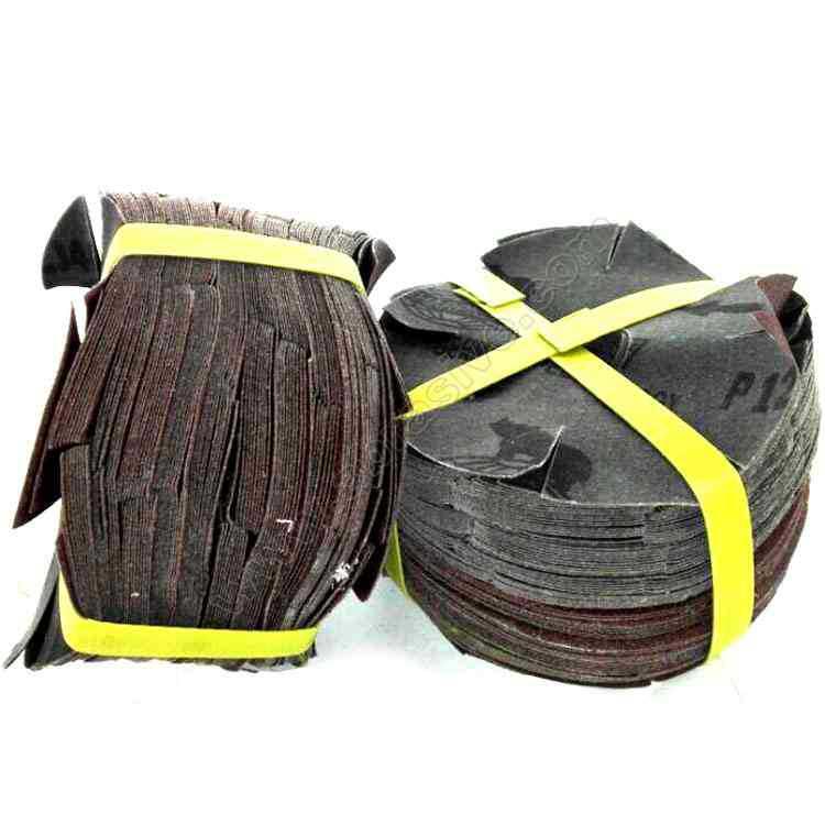 Wholesale Sharp 461 Soft Cloth Octagonal Sand Mahogany Furniture Wood Polishing Ba Ban Sha 6-Inch