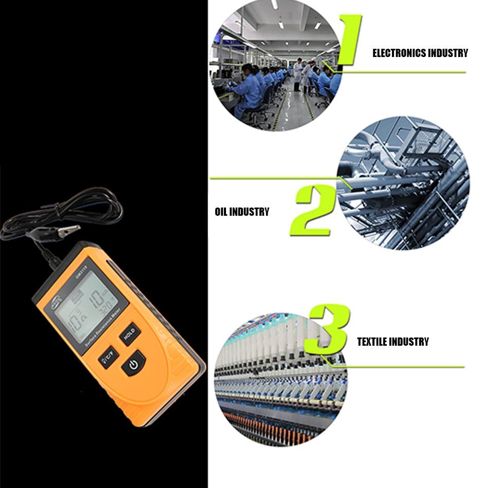 Detector estático handheld da impedância do verificador
