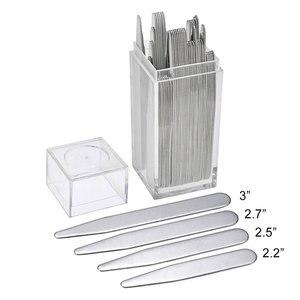 40 個 201 ステンレス鋼カラーステイ骨材シルバー色 5.58 センチメートル 6.35 センチメートル 7 センチメートル 7.6 センチメートル