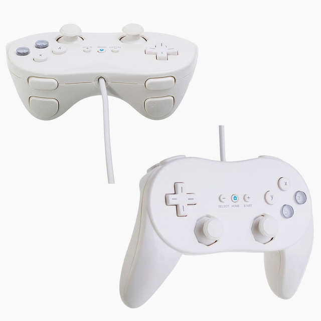 Gamepads Classic Wired Game Controller Gaming Remote For Pro Gamepad Shock Joypad Joystick For Nintendo Wii Second-generation