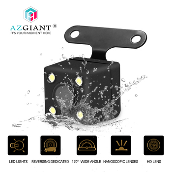 AZGIANT Car CCD HD 5 pin digital Front View Camera Backup Rear Monitor Parking Assistance Waterproof