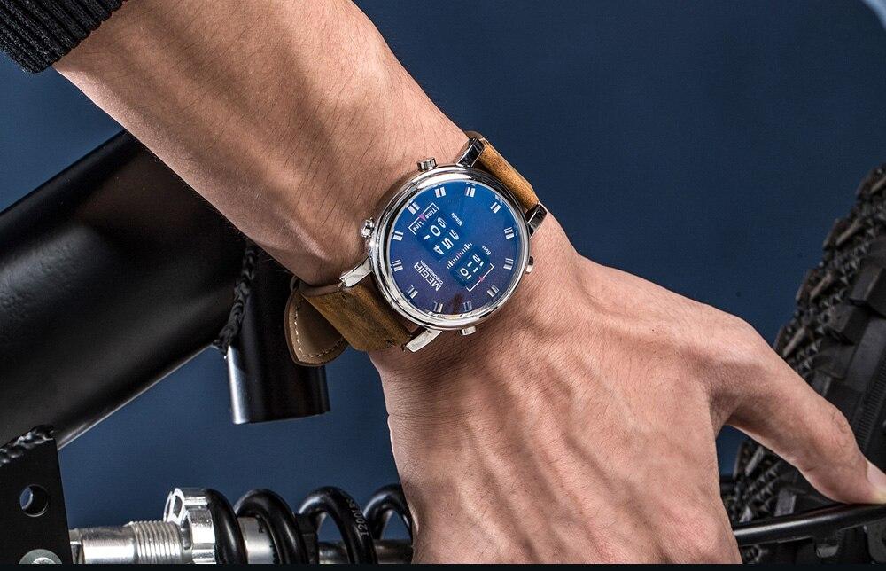 MEGIR Relógio Digital de Luxo Esporte Exército