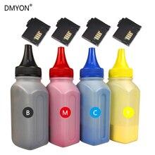 цена на DMYON 4 Color Bottled Toner Powder Cartridge Chip Compatible For Xerox Phaser 6020 6022 Workcentre 6025 6027 Printer Refill