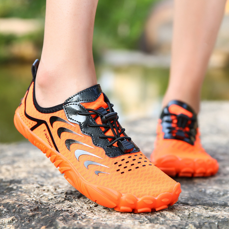 2021 Fashion High end Outdoor Wading Shoes Swimming Shoes Five finger Shoes Hiking Fitness Shoes puma shoes men| | - AliExpress