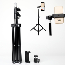 Ring Lamp Tripod Makeup Stand Light Table Selfie Stick with Phone Holder Clip for Huawei Mate 30 20 Lite 2019 Honor 9X Pro P30