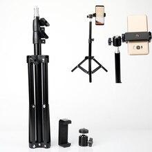Trípode de lámpara de anillo para maquillaje, palo de Selfie de mesa con soporte para teléfono, Clip para Huawei Mate 30 20 Lite 2019 Honor 9X Pro P30