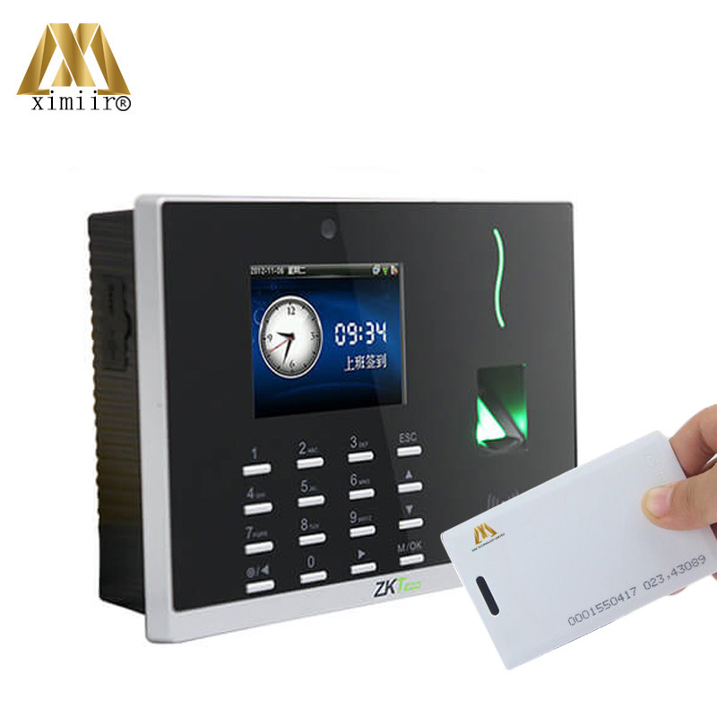 Biometric Time Clock With 125KHz RFID Card And WIFI TCP/IP Fingerprint Time Attendance Machine CS800