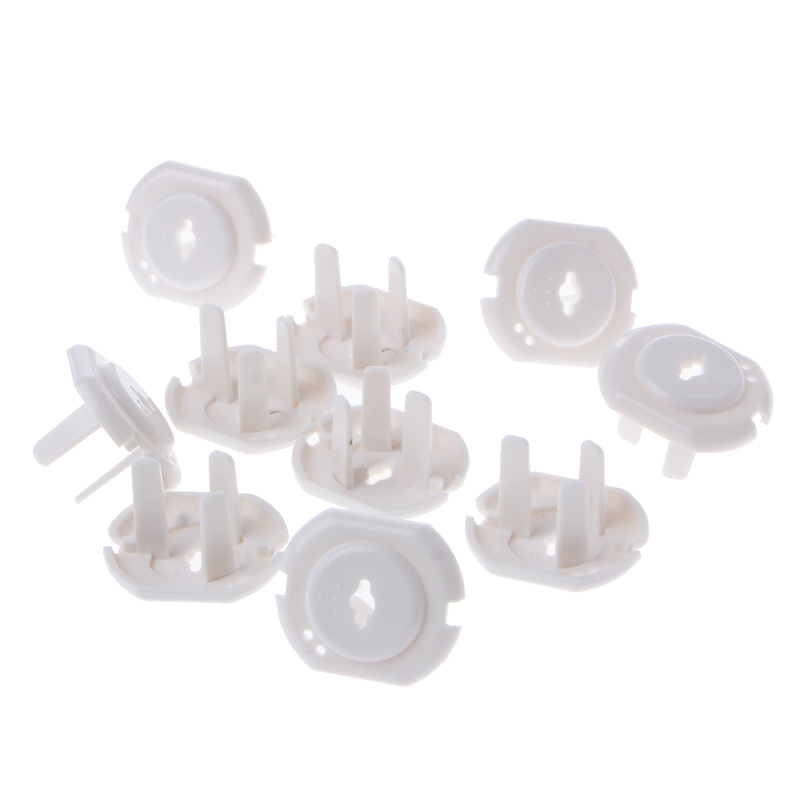 10pcs Australia Power Socket Outlet Plug Protective Cover Baby Safety Protector 95AE