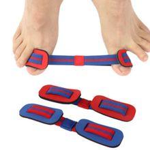 Корректор вальгусной деформации, многоразовый эластичный выпрямитель для большого пальца ноги, пояс для Тренировки Растяжки