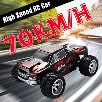 RC Car WLtoys A979 1/18 4WD Racing Remote Control Off Road Race 2.4GHz Radio-controlled High Speed Truck Buggy