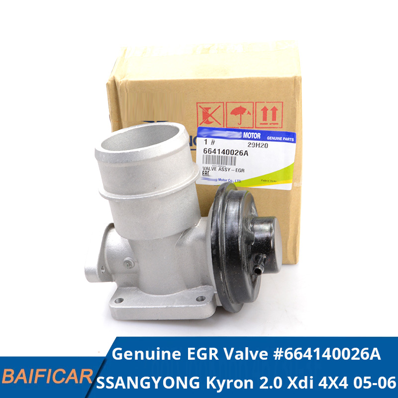 Baificar New Genuine Exhaust Gas Recirculation EGR Valve 664140026A ,6641400260 For SSANGYONG Actyon KYRON 2.0 Xdi 4X4 2005-2006