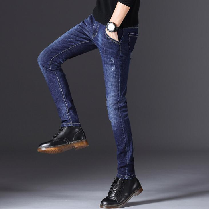 2020 New Arrival Stylish Spring Stretch Jeans For Men Top Quality Casual Long Pants Male
