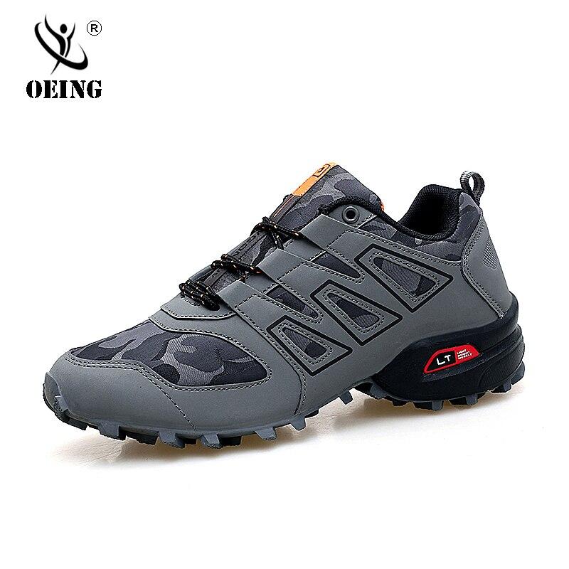 Men Luminous Shoes Solomon Series Explosion-proof Sneakers Shoes Chaos Large Size Outdoor Shoes Non-slip Casual Sports Shoes 47