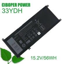 33YDH para 17 Original New Substituição da bateria Do Portátil 7778 7779 7773 15 7577 G3 15 3579 17 3779 P30E Série 15.2V/56WH