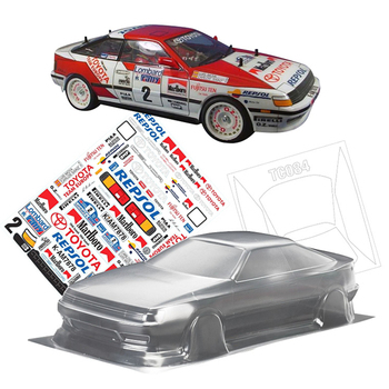 Team C Toyota Celica GT-Four Toys Model PC Clear Body 258MM Wheelbase For 1/10 Rc Drift Car Flat Sport On-Road Electric Cars image