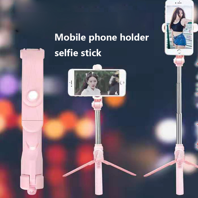Mobile Phone Holder Tripod With Remote Self-Timer Artifact Rod For Phones G0pro For Samsung S20 S 20 S10 S 10 S9 S 9 S8 S 8 Plus