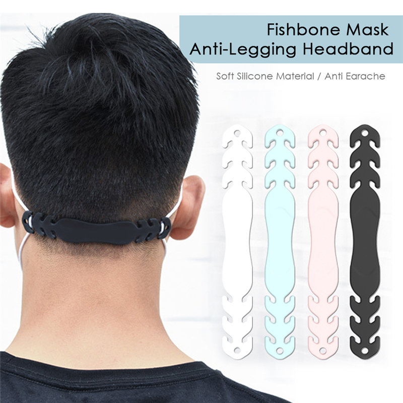 3pc Soft Face Mask Ear Hooks Buckle  Adjustable Earache Ear Pain Prevention Health Care Suppies Mask Extension Belt