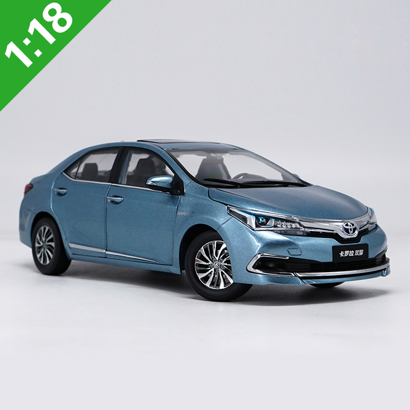 1:18 High Meticulous TOYOTA COROLLA Alloy Model Car Static Metal Model Vehicles With Original Box