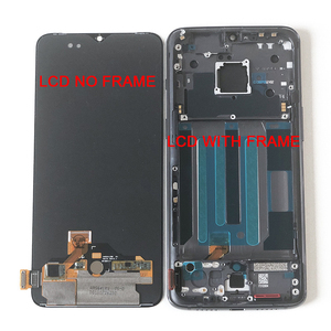"Image 5 - 6.41 ""원래 Supor Ampled M & Sen OnePlus 7 LCD 화면 디스플레이 + 터치 패널 디지타이저 OnePlus 7 LCD 디스플레이 터치 프레임"
