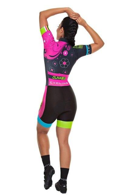 Conjunto de roupa de ciclismo feminina, macacão profissional da equipe triathlon, macacão, maillot, conjunto de roupa de ciclismo com almofada em gel rosa, 2020 2