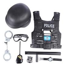 Ролевые игры, полицейские игрушки, набор для детей, детские ролевые игровые комплекты для мальчиков, игровой набор