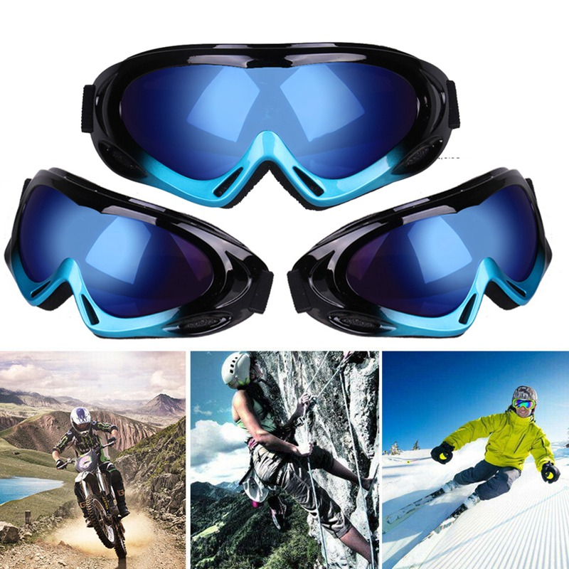 1pcs Winter Windproof Skiing Glasses Goggles Outdoor Sports Glasses Snowboard Ski Goggles Dustproof Moto Cycling Sunglasses