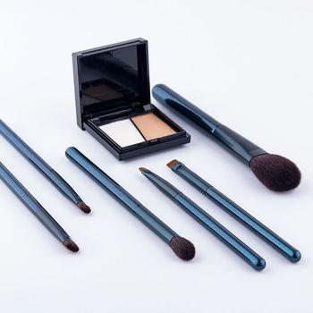 Makeup Brush Set Artificial Horse Hair Wood Handle Make Up Brushes Cosmetic Tool