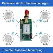 Freeshipping 868/915 mhz frío cadena inalámbrico temperatura registrador 433 mhz sensor de temperatura inalámbrico rs232/TTL uart receptor