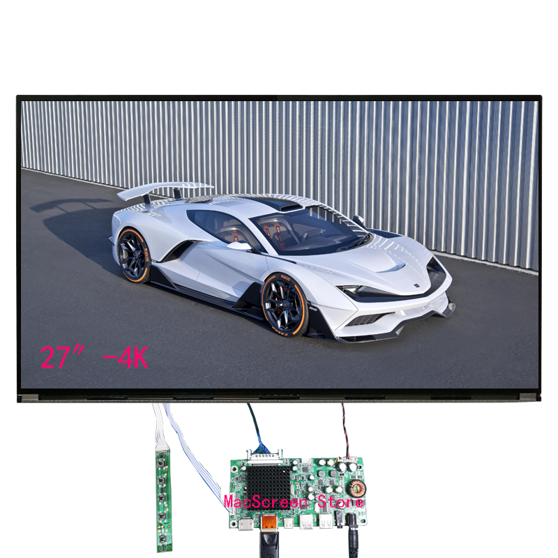 27 Inches New Original 4K Micro Border IPS LCD Screen MV270QUM MV270QUM-N10 MV270QUM-N20 MV270QUM-N30 DIY 4K Hd Display