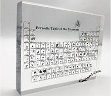 Большой склад акриловый периодический стол химический кристалл