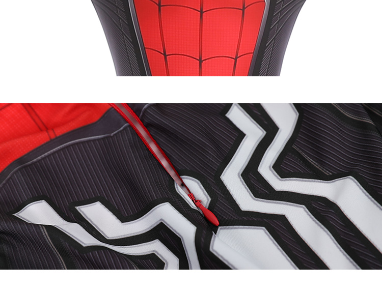 Kids Adult Spider Man Far From Home Peter Parker Cosplay Costume Zentai Spiderman Superhero Bodysuit Jumpsuits Halloween Costume 4
