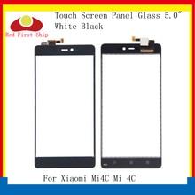 10Pcs/lot Touch Screen For Xiaomi Mi4C Mi 4C Touch Panel Digitizer Sensor Front LCD Glass Lens Mi 4C Touchscreen Replacement 10pcs lot new touch screen panels for garmin zumo 340 ce lifetime gps touchscreen digitizer panel replacement