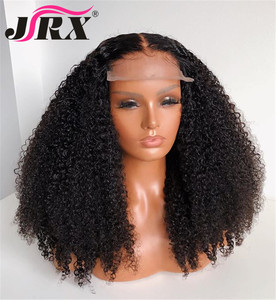 Image 3 - Afro Kinky Curly Wig 13x4 Lace Front Human Hair Wig High Ratio For Women Remy Hair Wig Human Hair Lace Front Wigs