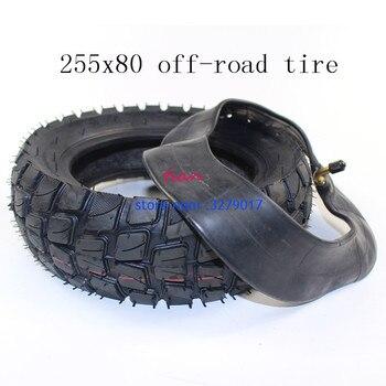 Neumático para ZERO 10X zero10X, de 10 pulgadas neumático todoterreno, neumático Interior Exterior, neumático de campo traviesa, scooter Eléctrico antideslizante y grueso