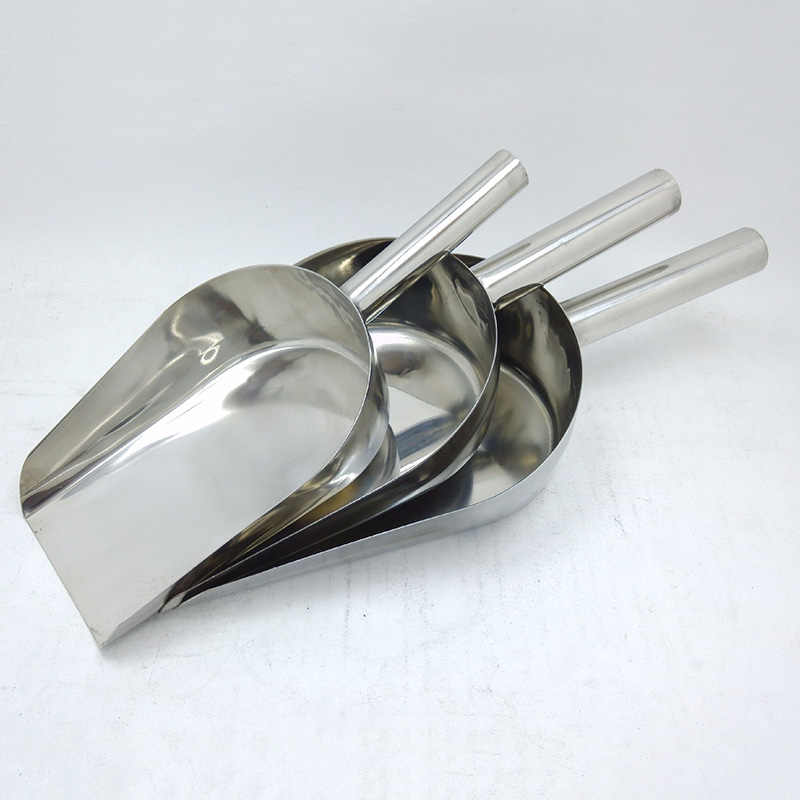 Stainless Steel Metal Wedding Candy ice tool Flour Buffet Bar Style Hand G0I0