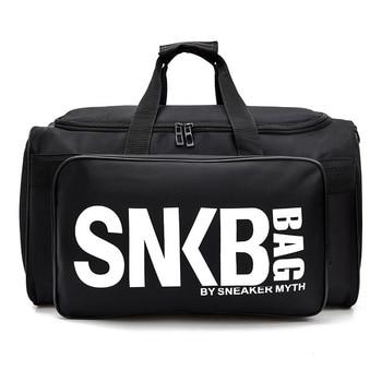 2019 Men Women Gym Bag For Sneaker Shoes Compartment Packing  Organizer Waterproof Nylon Sport Travle Duffel Bags Wholesale 2