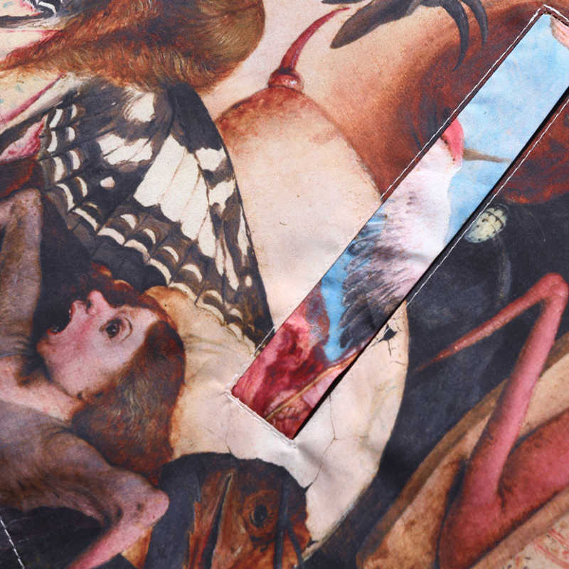 Plegie שמן ציור הבכור סתיו של Rebel מלאכים ציור רוח הדפסת מאמנים מעילי מעילי היפ הופ Streetwear