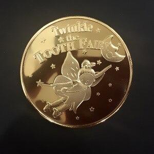 Памятная коллекция монет зуб Фея подарок сувенир для детей подарок для монет