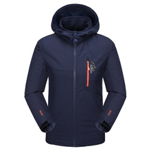 autumn Korean fashion High quality men jackets casual slim fit plus homme coats outerwear embroidery big pockets size L-8XL