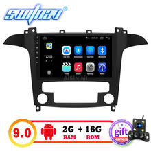 "SWITNAV 10.2"" Big Screen Android 9.0 CAR DVD Player For FORD S-MAX car multimedia support DVR DAB OBD car audio gps(China)"