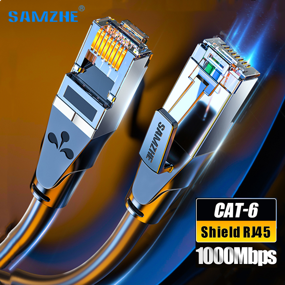 CAT6A Ethernet Cable Cat 6 RJ45 Lan Network Cable 10 Gigabit High Speed Cat6 a Patch Cord for Laptop Router RJ 45 Internet Cable