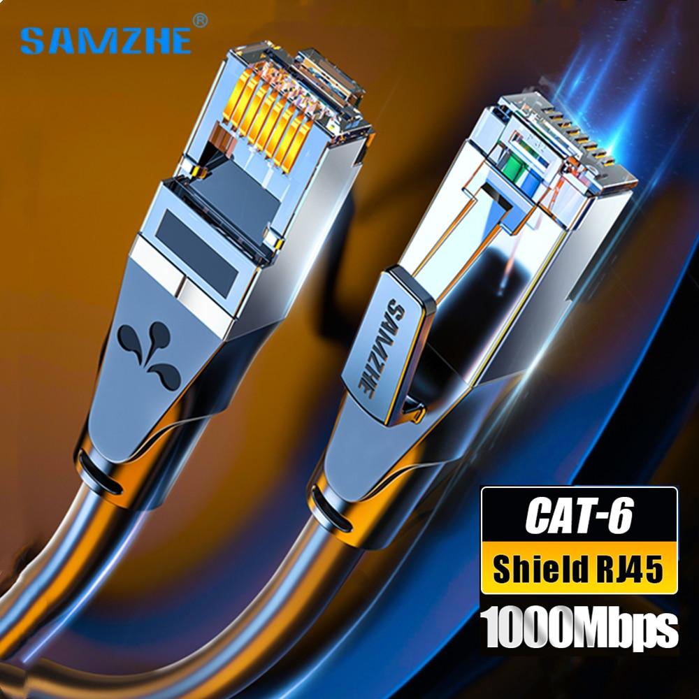 Ethernet-кабель CAT6A Cat 6 RJ45 сетевой кабель 10 гигабит, высокоскоростной патч-корд Cat6 a для маршрутизатора ноутбука, RJ 45 Интернет-кабель