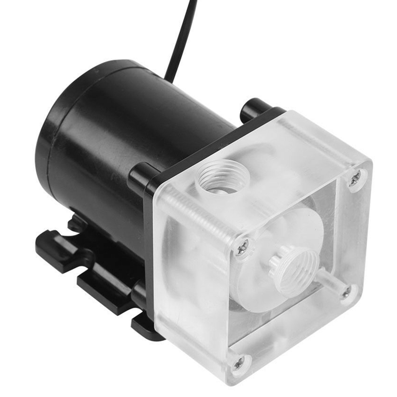 12V 0.8A 10W G1/4 Thread Low Noise Water Pump for CPU PC Computer Cooling System 3