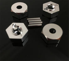 1 комплект новый rc 1:10 7 мм Толщина 12 колеса с шестигранной