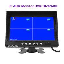 DVR Car-Monitor Truck Screen-Ahd 9inch 4-Split 720P for Bus Indoor Driving-Recorder Ips1024--600