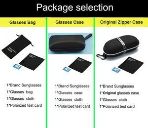 Image 5 - AORON חדש אלומיניום מסגרת משקפי שמש Mens מקוטבת נהיגה, זכר קלאסי מלבן ספורט Eyewear UV400 אנטי Uv