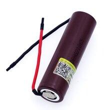 Liitokala batería recargable de cigarrillos electrónicos de alta descarga, batería recargable de 18650 mAh, de alta corriente 30A, para HG2 3000, 1 8 Uds.