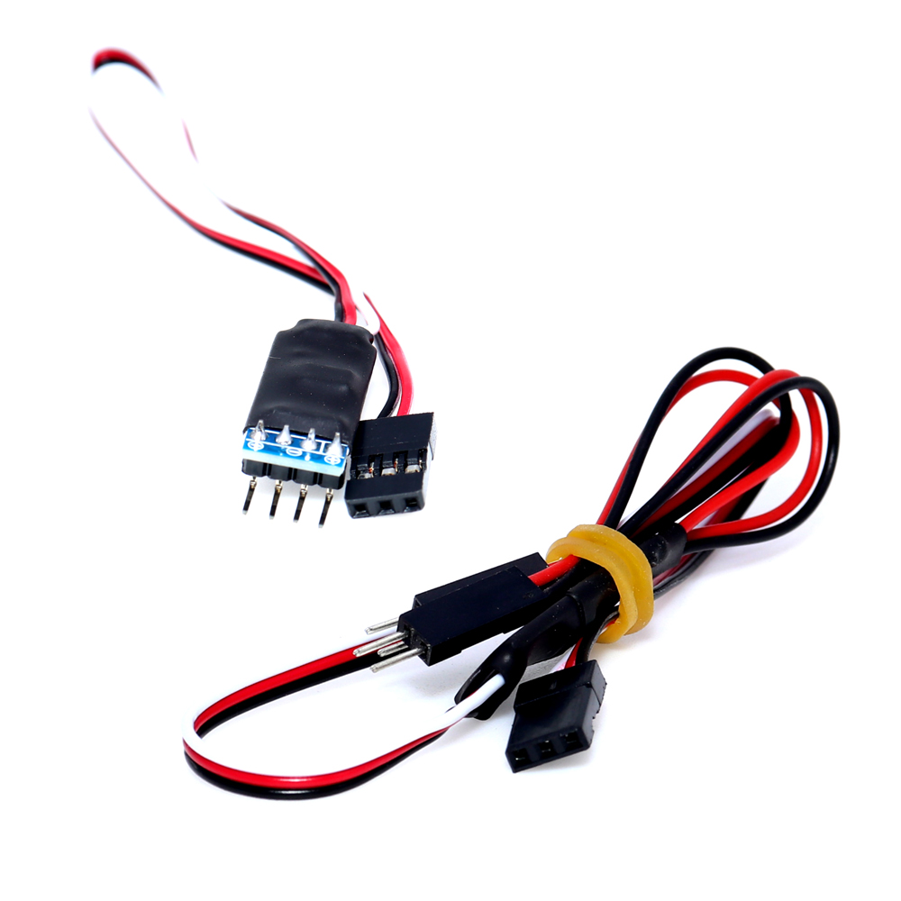 LED Lamp Light 3CH Radio Remote Control Switch Turn On//Off for RC Cars